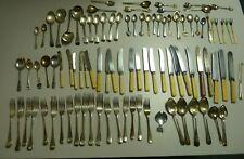 Job Lot 3.3kgs Bundle Vintage Cutlery EPNS Mix Spoons Forks G190 C15 FREE P&P