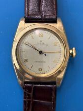 Rolex Vintage Bubble Back 18 K Gold Ref. 3131 . Rare . (315)
