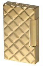 Lighter S.T. Dupont Ligne 2 Slim Quilted Yellow Gold