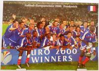 Frankreich + Fußball Europameister 2000 + Fan Big Card Edition A21 +