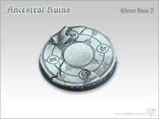 Ancestral Ruins 60mm base ronde 2 (1) DESSUS DE TABLE ART BASE mise en forme