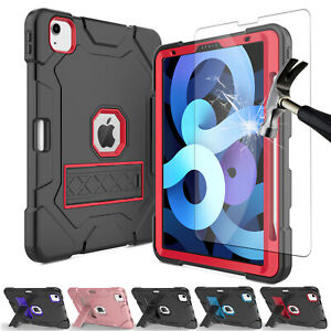 """For iPad Air 4th 10.9"""" / iPad Pro 11 2018 / 2020 Shockproof TPU Stand Case Cover"""