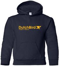 DutchBird Vintage Logo Defunct Dutch Airline Hoody