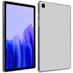 Coque Galaxy Tab A7 10.4 2020 Silicone Flexible Ultra-fine et Légère Transparent