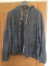 Men's soviet Chambray Lightweight Jacket Large