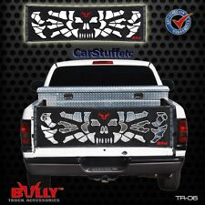 Bully TR-06 Skull & Bones Tailgate Tail Gate Net FullSized  Pickup Pirate Zombie
