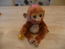 ***FURREAL PET CUDDLES MY GIGGLY MONKEY CHIMP & BANANA BOTTLE INTERACTIVE TOY***