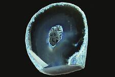 "Agate Geode Blue 2"" 4-7 Oz Natural Chakra Healing Crystals Rough Gemstone Raw"
