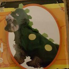 "HALLOWEEN COSTUME DOG NEW DINOSAUR SUIT MEDIUM 16-18"""