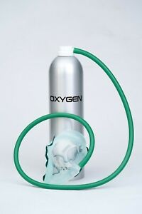 35 Litres Oxygen in a Can - Mask Included - Oxygen Pro - MADE IN UK