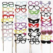 Photo Booth Props, MoYag 76 Pcs DIY Kit Dress Up For Wedding/Birthday/Hen Party