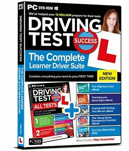 Driving Test Success Complete Learner Driver Suite (PC Disk)