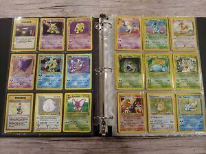 Binder(READ descript) Collection of Vintange Pokemon Cards lot Holographic Wotc
