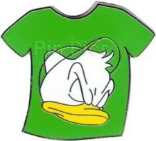 Disney Pin: WDW Cast Lanyard Series #3 - Duck T-Shirt (Green/Louie) No Mickey