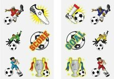 12 Football Soccer Tattoos Birthday Party Loot Bag Toy Fillers For Kids