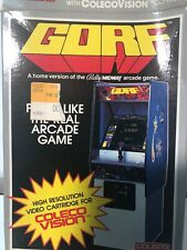 Vintage Coleco vision Gorf Box And Instructions No Game.