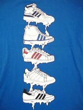 Adidas Athletic Apparel Basketball BBall Shoes Kicks Baseball Soccer T Shirt M/L