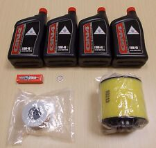 New 2004-2007 Honda TRX 400 TRX400 AT Rancher Complete Oil Service Tune-Up Kit
