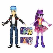 My Little Pony Equestria Girls Flash Sentry and Twilight Sparkle 2-Pack New