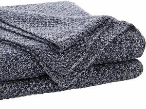Sheridan Earley Midnight Knitted Throw