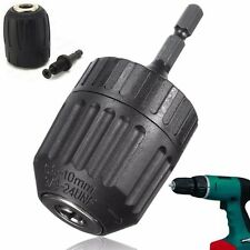 3/8'' 24UNF 0.8-10mm Keyless Drill Chuck Converter & 1/4'' Hex Shank SDS Adaptor