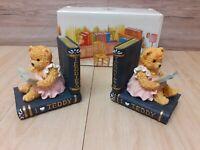 Teddy Bear Bookend by Leonardo in boxed