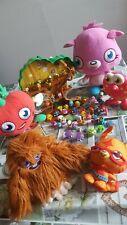 Large Bundle Moshi Monster Soft Toy & Mini Figures Treehouse