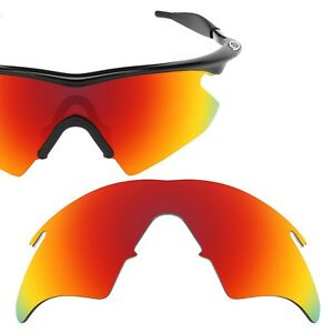 Polarized Red Replacement Lenses for Oakley M Frame Heater