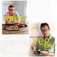 Hugh Fearnley-Whittingstall Collection River Cottage 2 Books Set Fruit Every Day