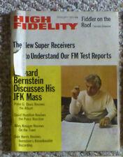 Feb 1972 high fidelity magazine