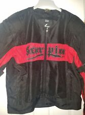 Mens Jacket Black Red Scorpion EXO XXL 3 pc motorcycle jacket.