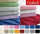 Gabel 1 asciugamano viso + 1 ospite bagno spugna cotone idrofilo 420 gr