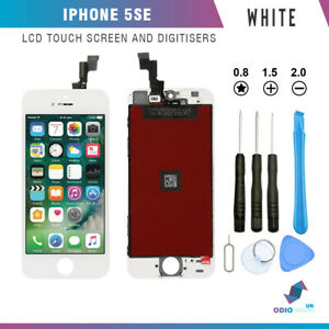 For iPhone SE 5SE LCD Display Touch Screen Digitizer Assembly Replacement White