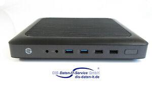 HP t620 Thin Client, ThinPRO, 1,5GHz Quadcore, 4GB DDR3, 8GB M.2 SSD, USB 3.0