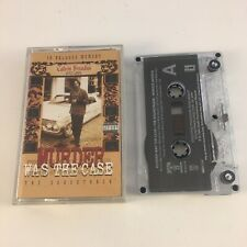 Murder Was The Case Cassette Soundtrack Audio Tape 92484-4 Snoop Dogg Dr Dre