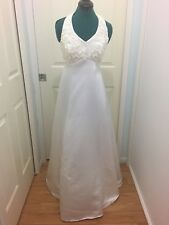 Henri Josef wedding gown halter neck size 10