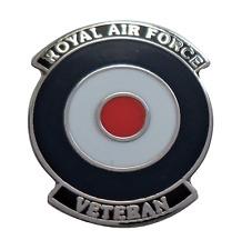 Royal Air Force RAF Veteran Roundel Pin Badge - LAST FEW