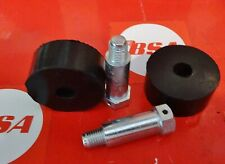 BSA C11/C11g.(PLUNGER/) TANK REAR MOUNTING RUBBERS & BOLTS  (2ea)