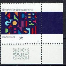 2256 ** BRD 2002, 150 Jahre Kindergottesdienst    ERU