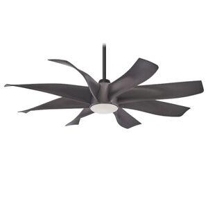 Minka-Aire F788L-GS Dream Star 60 inch Graphite Steel Ceiling Fan