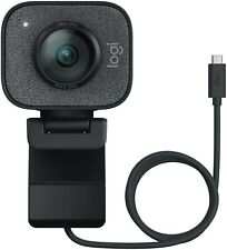 Logitech StreamCam Plus, 1080P HD 60fps Streaming Webcam + USB-C + Built-in Mic