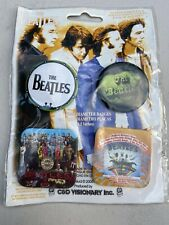 The Beatles Pin Buttons Badge Set Of 4 Brand New