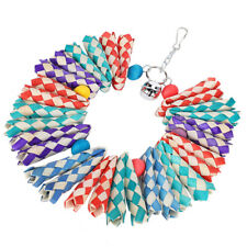 Pet Bird Parrot Parakeet Cockatiel Cage Toys Hanging Chewing Toy Decoration