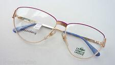 b2567ae3cc Lacoste Vintage Glasses Damenfassung Oversized DESIGNER Frame 70s Boho Size  M