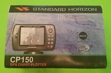 Standard Horizon CP150 GPS Chart Plotter gray scale 320x240 LCD 12 channel DGPS