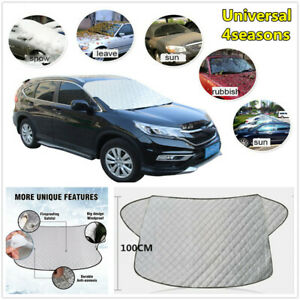 Car Front Windshield Cover Sun Shade Protector Snow Ice Rain Dust Frost Guard