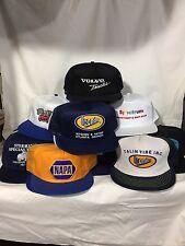Lot of 36 Vintage Truckers Hat Cap Mesh Patch Flat Bill 80s 90s Euc