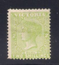 Australia- Victoria  1890  Sc #177(2sh)  Wmk.11  MLH  OG   $32  (42690)