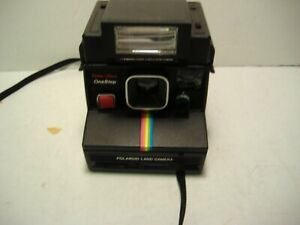 Polaroid Land Camera one step with flash & case
