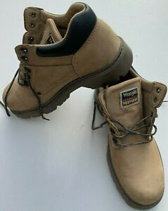 Mens Wrangler Suede Boots UK Size 9  Eur 43 Thinsulate Thermal Insulation.